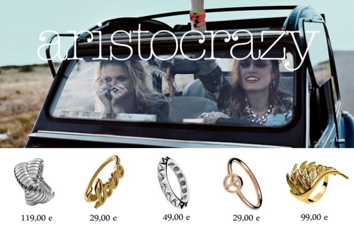 Collage anillos aristocrazy