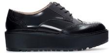 Blucher Flatform Zara (Negra)