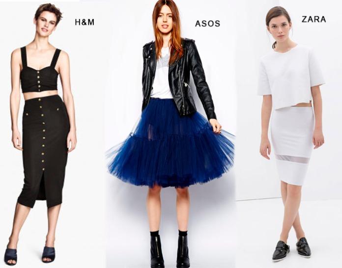 faldas midi low cost 2