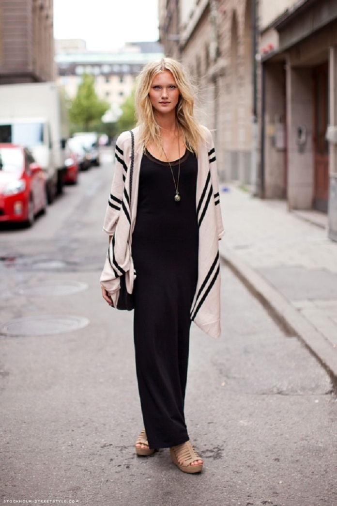 Latest-Black-Maxi-Dress-style-for-Summer