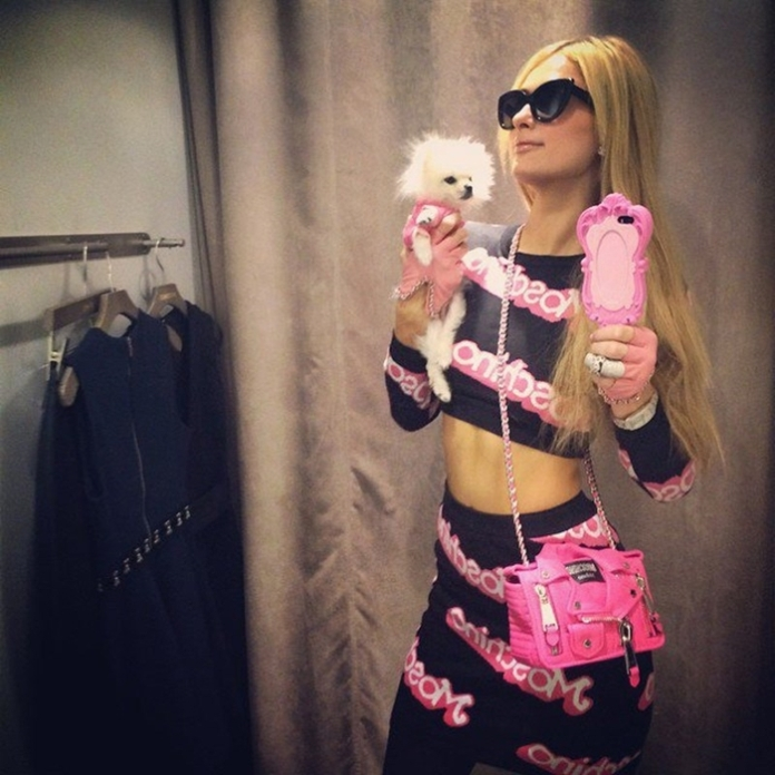 paris hilton funda